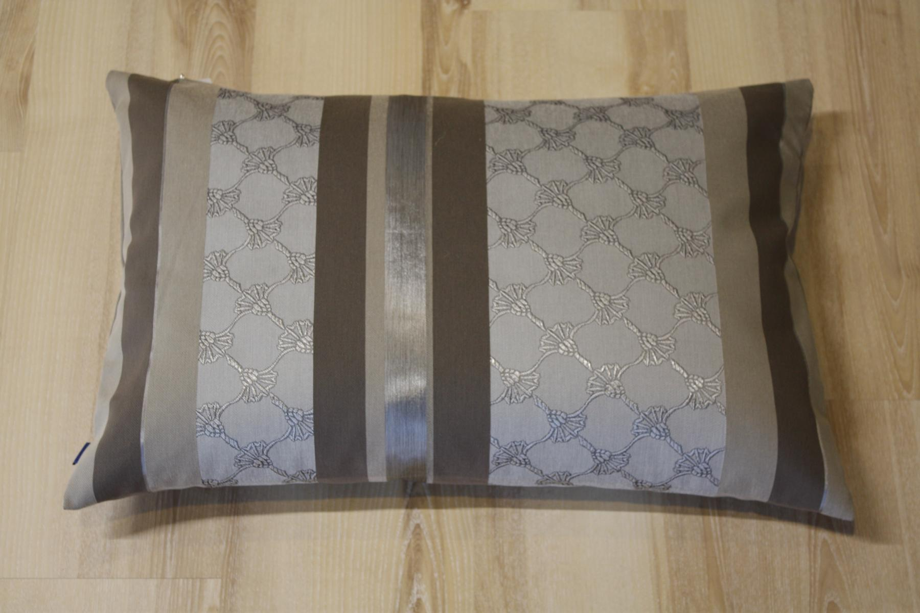 joop kissen lucent 010 kitt 40x60 cm inkl federf llung ebay. Black Bedroom Furniture Sets. Home Design Ideas