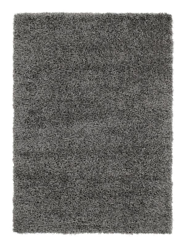 trend shaggy langflor teppich 640 grau 140x200 cm neu ebay. Black Bedroom Furniture Sets. Home Design Ideas