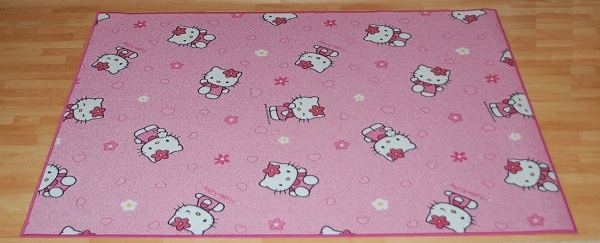 hello kitty teppich spielteppich m bel 400x320 cm ebay. Black Bedroom Furniture Sets. Home Design Ideas